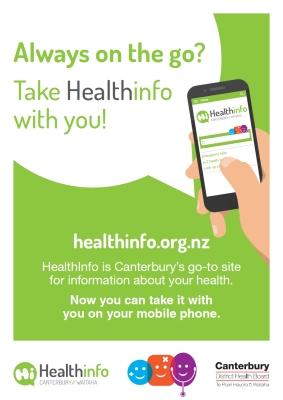 Healthinfo App flyer Aug 2017